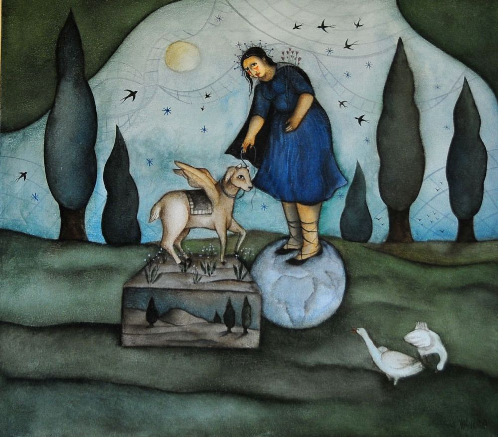 Hannetjie de Clercq - Violet and Cinnamon ... (6/6)