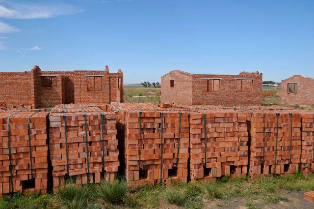 Abandoned RDP (Reconstruction and Development Program) housing project.